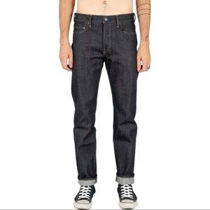 John Elliott Selvedge Raw Denim Jeans New Cast?